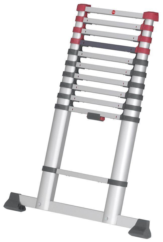 Лестница телескопическая 11 ступеней T80 FlexLine 320 Hailo 7113-111