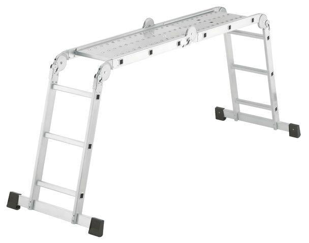 Лестница-стремянка ProfiStep Combi 4x3 ступени Алюминиевая Hailo 7412-037